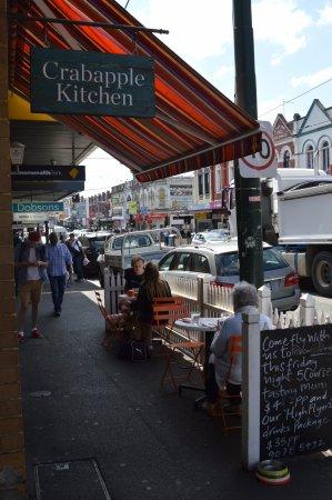 Hawthorn, Australia: Eating al fresco