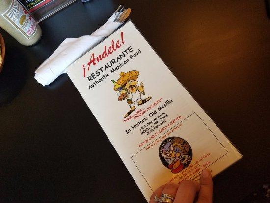 Mesilla, นิวเม็กซิโก: Andele Restaurant