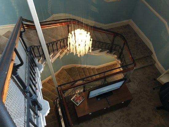 St. Pancras Renaissance Hotel London: Staircase