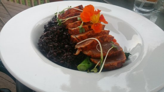 Rocheport, MO: Ahi Tuna with Purple Rice