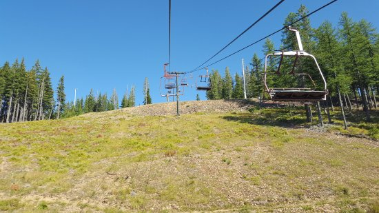 Kellogg, ID: ski lift on the top