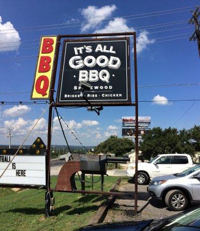 Spicewood, Teksas: It's All good Bar-B-Q