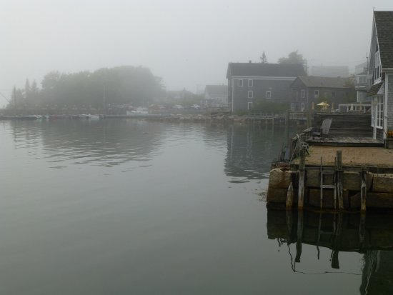 A foggy day in Stonington