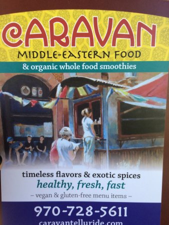 Photo of Middle Eastern Restaurant Caravan Middle Eastern Food at 123 East Colorado, Telluride, CO 81435, United States