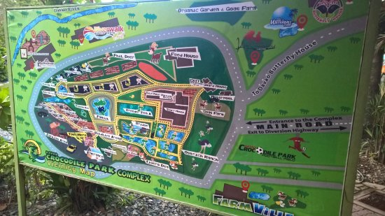 Map of the place - Picture of Davao Crocodile Park, Davao City ... Davao City Map on