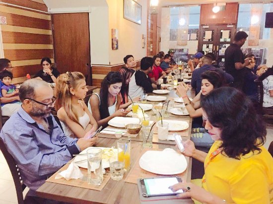 Rupee team at Aromas of India