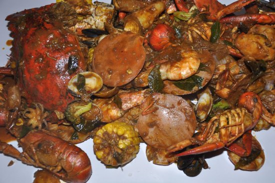 paper lobster dry curry style crab island set yummy