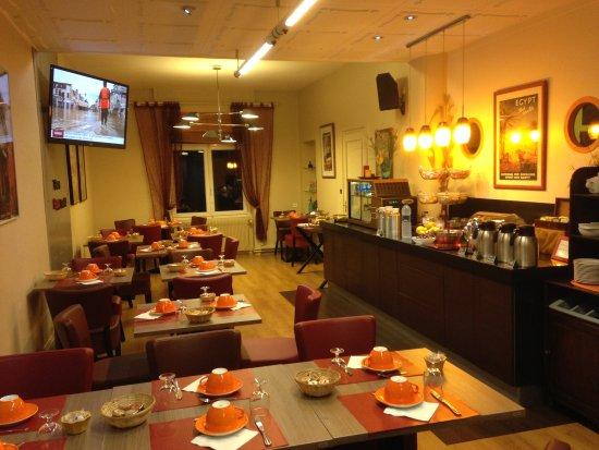 Hotel du Midi: Breakfast Room