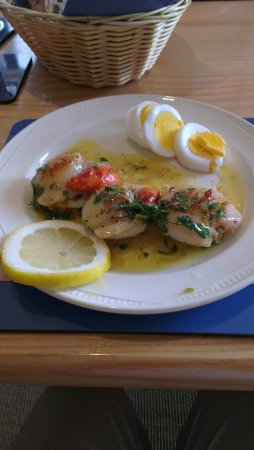 St. Margaret's Hope, UK: Entree - David might cook for you if you ask nicely!
