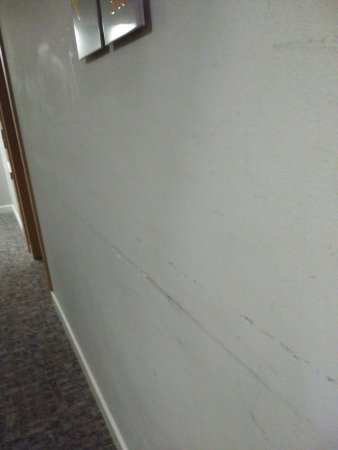 Exe Princep Hotel: todos los pasillos rayados en un hotel de 4*