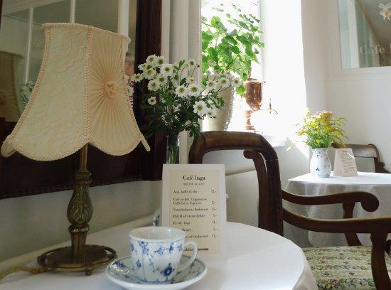 Middelfart, Dinamarca: Stemningsbillede fra Café Inga