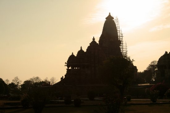 Amazing View of Khajuraho Temples