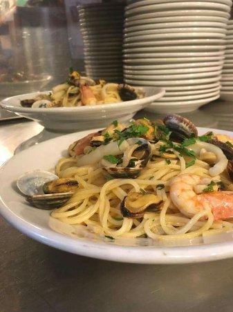 Mentana, Italië: Spaghetti allo scoglio