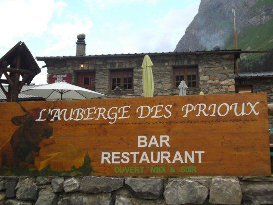 Пралоньян-ла-Вануаз, Франция: super sympa pour un diner à la bougie. authentique et fondue finition cocotte un régal