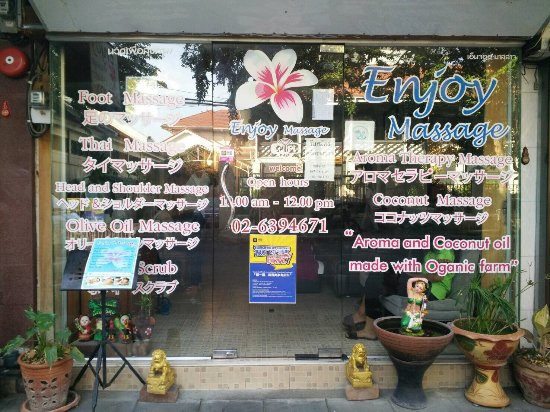 Even worse than terrible - Review of Enjoy Massage, Bangkok