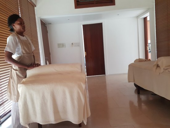 The Residence Zanzibar: Spa!!!! These ladies know what they were doing