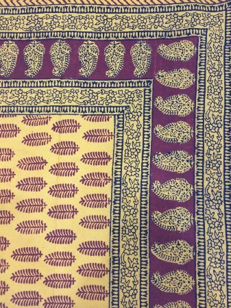 Madhya Pradesh, India: Named after Bagh Village, these prints are eclectic and used mostly on cotton & silk cloth