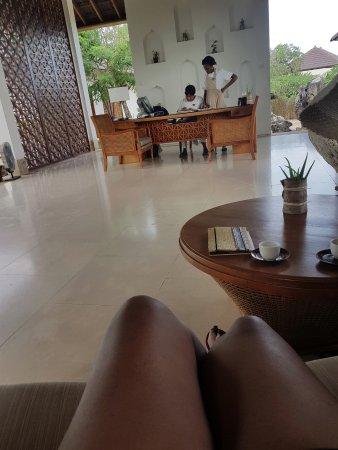 The Residence Zanzibar: Spa reception
