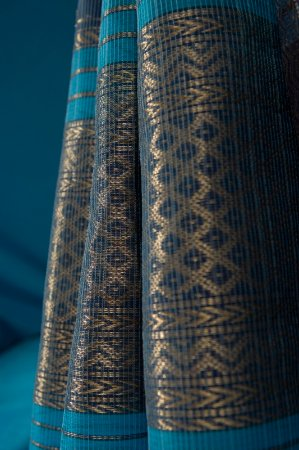 Madhya Pradesh, India: Chanderi Saris, with its intricate motifs and patterned borders, are a prize possession of Chand