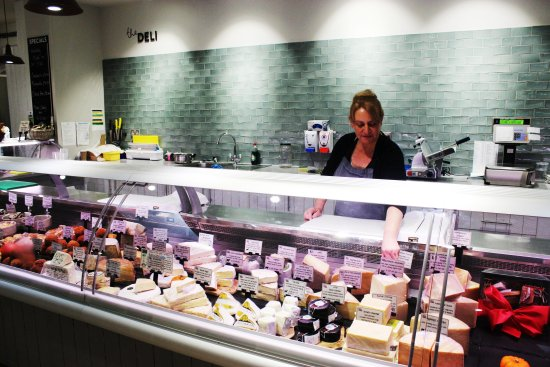 Cranbrook, UK: Our Deli counter full of local food