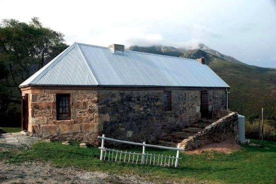George, Sydafrika: bergzicht