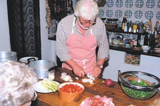 Arcidosso, Italia: Carlo in cucina