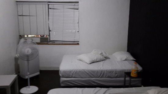 Miami Beach International Traveler's Hostel: This is a private single room in the main building (came with 2 double beds)