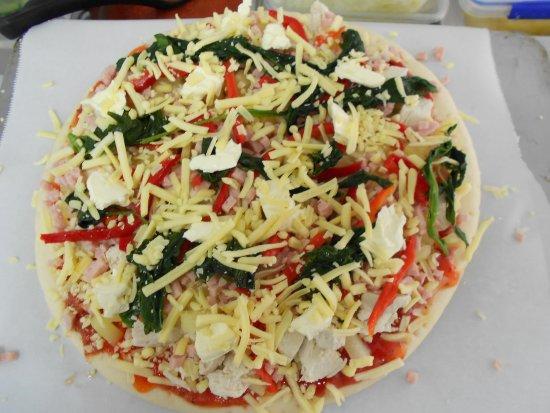 Te Kuiti, Nueva Zelanda: Delicious Pizzas