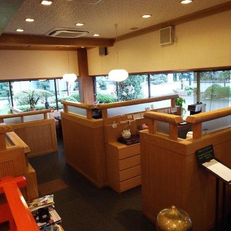 Hadano, Japón: 椅子の席です。