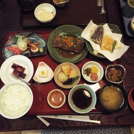 "Hadano, Japón: 私が食べた""日替わり御膳""です。"
