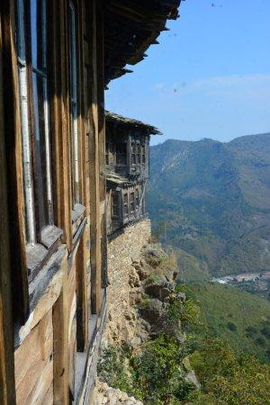 Ribaritsa, Bulgaria: Widok z klasztornego okna.
