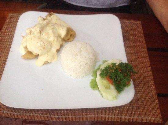 Mecca - Lemongrass restaurant: Филе не помню какой рыбы. Очень вкусно!