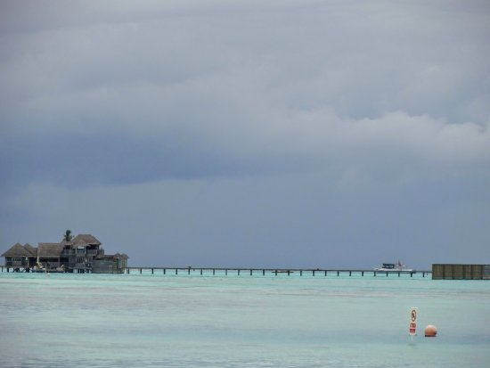 Paradise Island Resort & Spa: view from our water villa