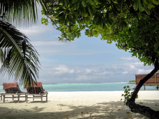 Paradise Island Resort & Spa: view from beach bungalow