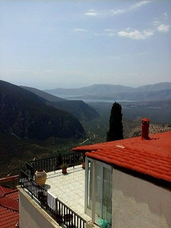 Hotel Varonos: The most incredible view- the photo doesn't do it justice!