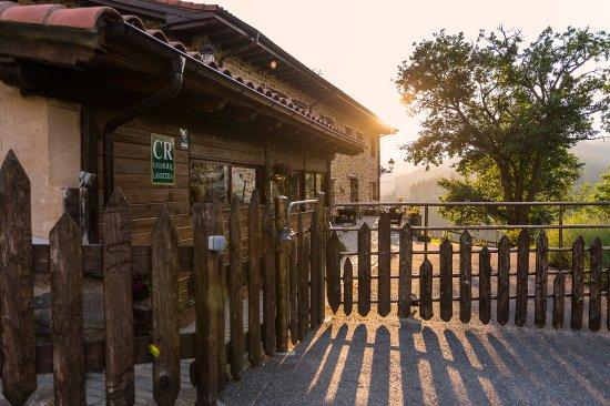 Eskoriatza, España: Accceso pricipal