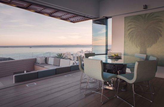 Bantry Bay, Sydafrika: Villa Two Dining Area