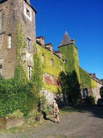 Bourbon-l'Archambault, France: Schlosshof