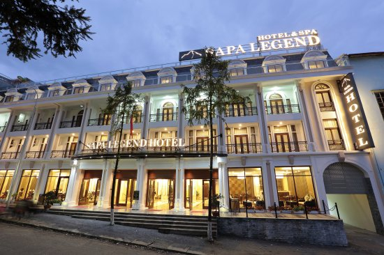 Sapa Legend Hotel & Spa: Front View