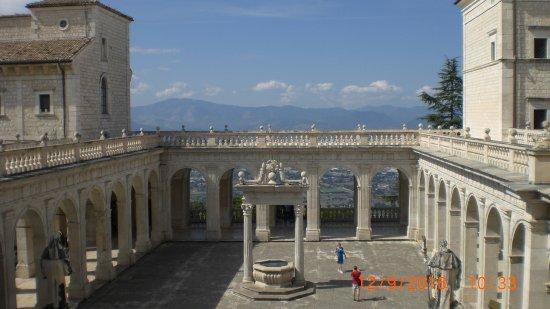 Conca Park Hotel: Monte Cassino abbey