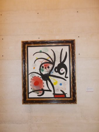 Pilar and Joan Miro Foundation in Mallorca : one of many