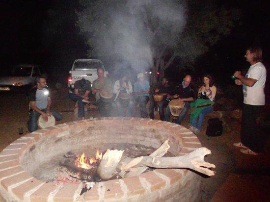Centurion, Güney Afrika: At the Fire pit