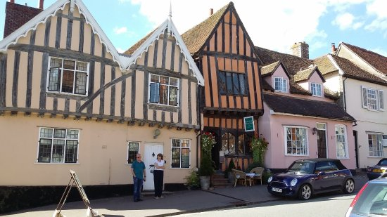 Bury St Edmunds, UK: a street scene