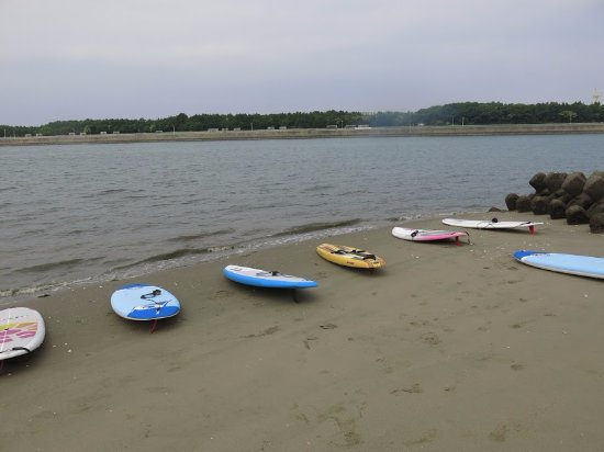 Chita, Japan: エントリーしたビーチ