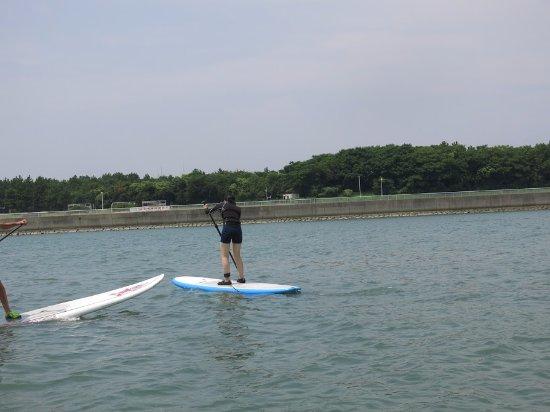 Chita, Japón: SUPやってる