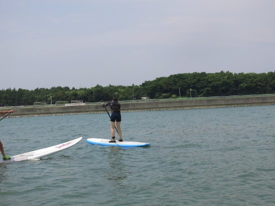 Chita, Japan: SUPやってる