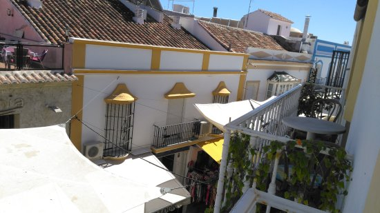 Hostal Miguel: view from room 205
