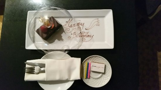 Swissotel Nai Lert Park: Another surprise for hubby when we returned to our suite room!