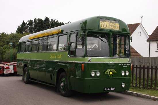 Chipping Ongar, UK: Vintage Bus