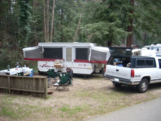 Cotillion Gardens RV Park: One Of Many Campsite We Have Had